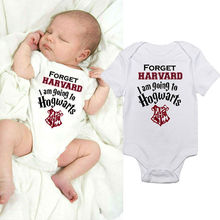 Newborn Baby Hogwarts Clothing boys girls letter Bodysuits  Infant Babies Boy Girl Cute Bodysuit one-pieces Outfits Kids