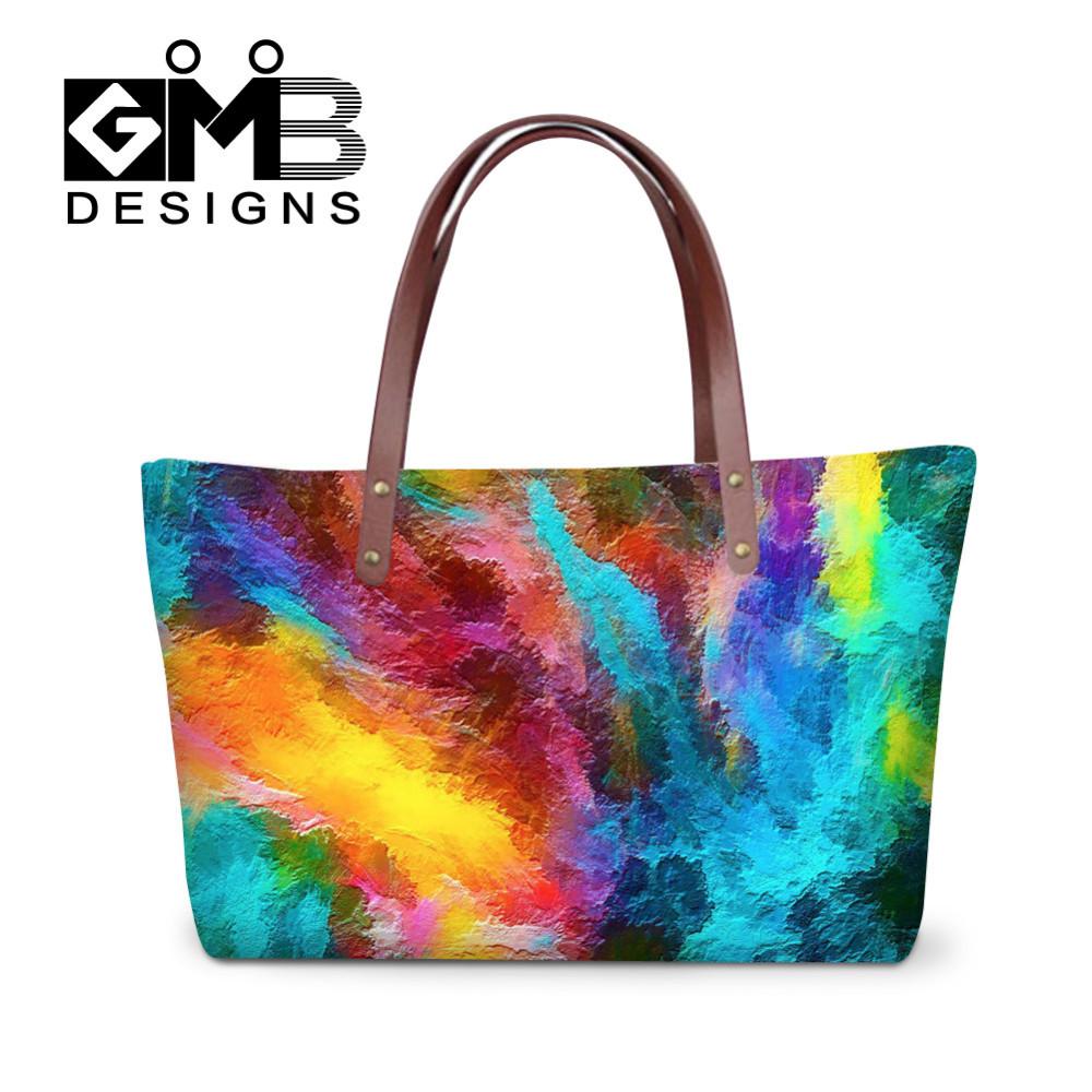 -4 Brand Graffiti Design Handbag for Women High Quality Causal Tote Bag Spanish Shouler Bag Crossbody Casual Large Bag bolsos mujer