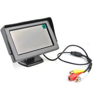 """Image 5 - ANSHILONG Auto Parktronic Dellautomobile Del Sensore di Parcheggio Video con Videocamera Vista Posteriore + 4.3 """"TFT LCD Monitor di SISTEMA 3 in 1"""