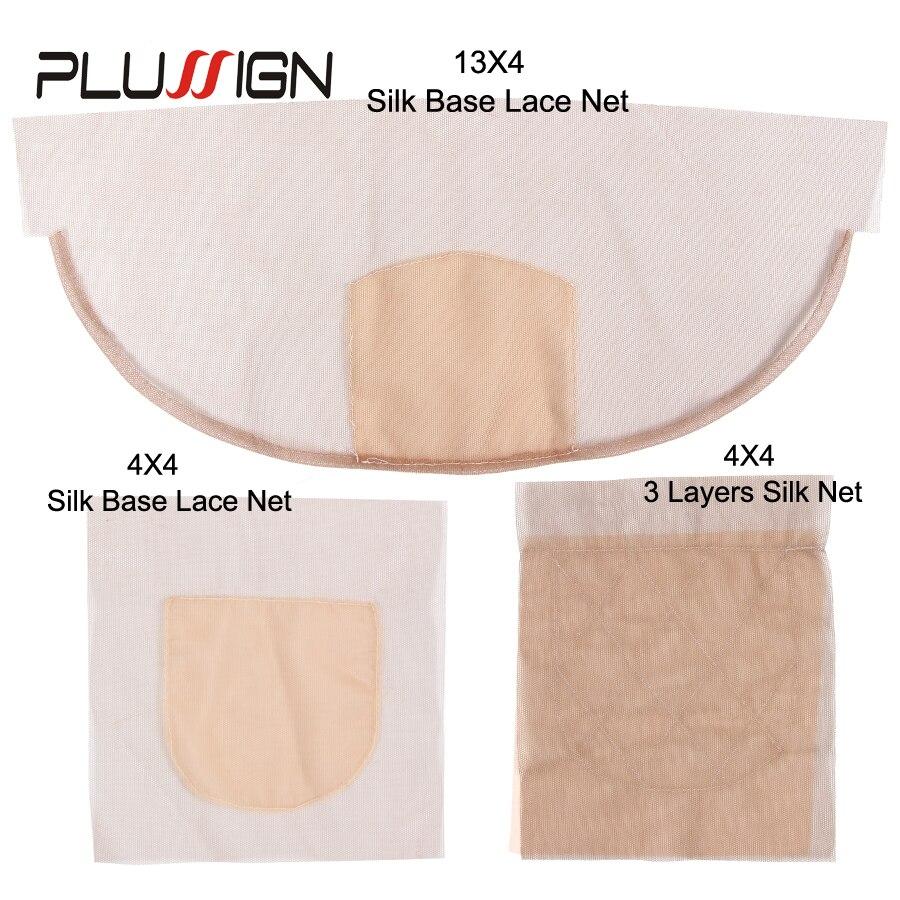 Сделано в Корее, лучшая 2/3 слойная сетка на шелковой основе для изготовления париков, сетка для париков 4x4 13x4 дюймов с фронтальной застежкой, ...