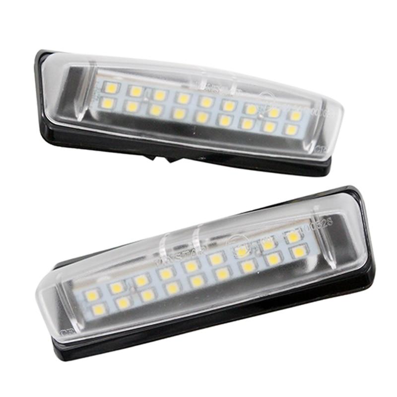 2 Pçs set SUNKIA Número LED License