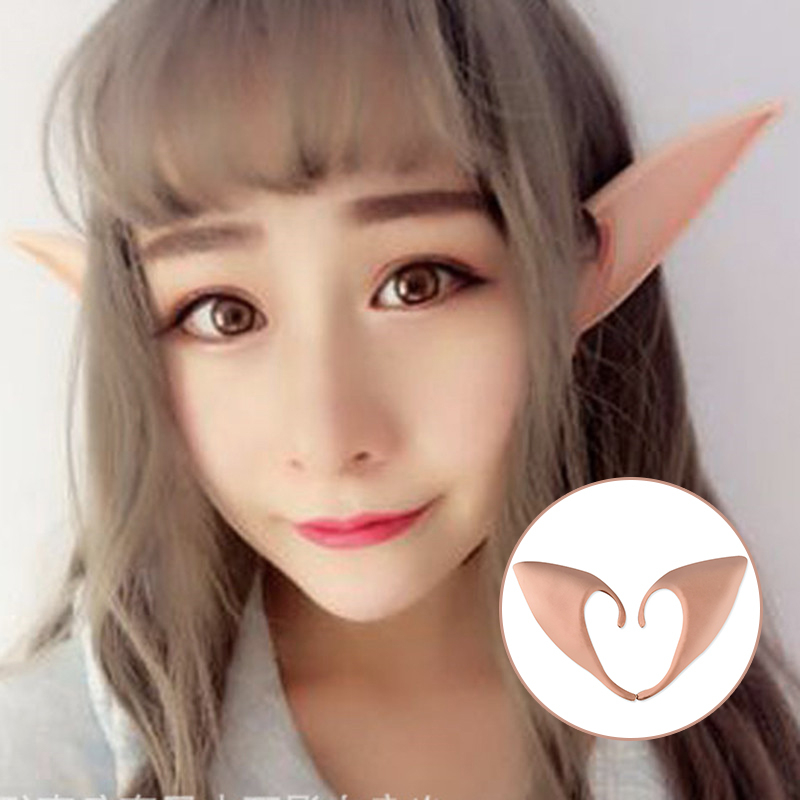 Costumes & Accessories Novelty & Special Use Elf Ears Cartoon Anime Cosplay Plastic Adult Unisex Charm Party Creative Festival Top Gifts Novelty Props Oreja Falsa Halloween