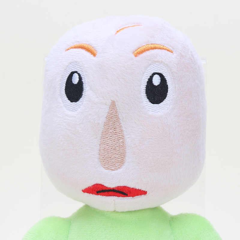 Sevimli Baldi's Basics Eğitim ve Öğrenme Peluş Figürü Oyuncak Baldi Dolması dolgulu oyuncak bebekler Hediyeler 23-25 cm