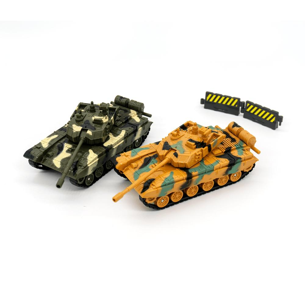 Diecast Military Vehicle 1:55 Toy Tank Model Army Truck Battle Fighting Car Toys For Kids Toddlers Boys Children War Machine Toy