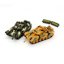 Diecast Military Vehicle 1:55 Toy Tank Model Army Truck Battle Fighting Car Toys for Kids Toddlers Boys Children War Machine Toy trumpet 05581 1 35 russian t 80bvd main battle tank assembly model