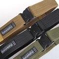 Casual cintura uomini marca ao ar livre blackhawk dell di larghezza nylon cinto tático esporte al soldato cinture militari