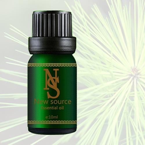 Cumpărături gratuite 100% Ulei esențial de plante ulei de pin ulei de ac 10ml Antibacterian îmbunătățesc laringita bronșică Z44