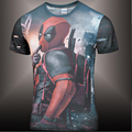 2017 American Comic Marvel Deadpool Printed 3D T-Shirt Men/Women Superhero Swag Funny T Shirts Summer Tee Tops T Shirt