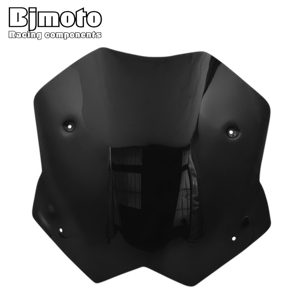 Bjmoto For Yamaha T-max 530 2012-2016 Blue Motorcycle Accessories Windshield Windscreen Pare-brise TMAX530 Tmax 530 for honda cb400 2005 2016 cb600f hornet 1998 2000 cb750 2007 motorcycle windshield windscreen pare brise black