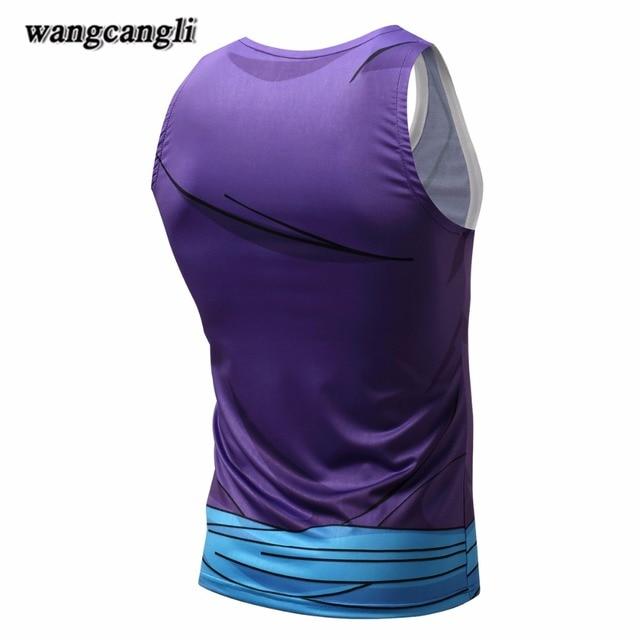 Brand men clothing Dragon Ball Z T Shirts Anime shirt goku compression shirt 3XL funny t shirts 3D Tees body engineers