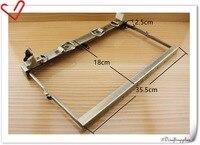14 Inch Metal Frame Vintage Anti Bronze Doctors Bag Frame Purse Frame M57