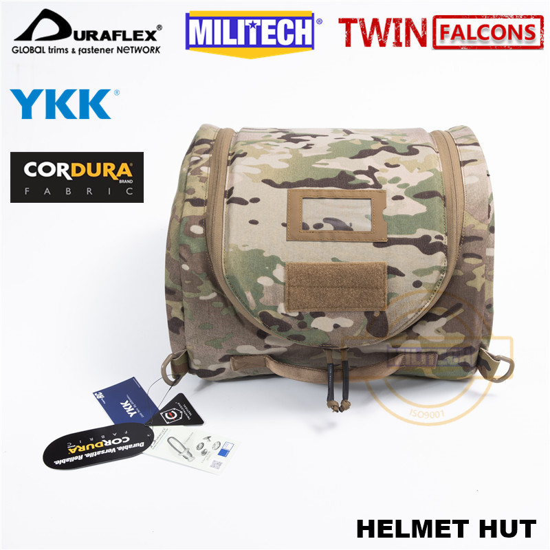 MILITECH TW Tactical First FS Spear Padded Helmet Hut Storage Bag MilSim Multicam RG BK Military Helmet System CQB CQC TW-HC002