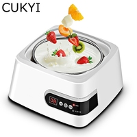 CUKYI Microcomputer Fancy Shape Yogurt Maker Multifunctional Electric Household Natto Rice Wine Machine 5 Cups Type