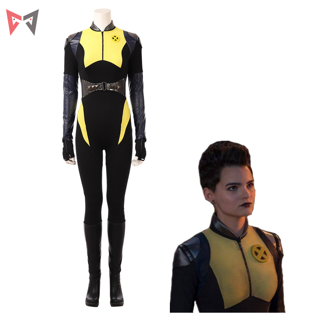 MMGG movie Selene Deadpool 2  jumpsuits Cosplay Costume battle suit  Custom Made