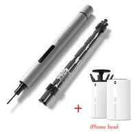 Wowstick 1P 1Fs мини аккумуляторная батарея беспроводная шуруповерт и набор яблочных бит Электрический прецизионный мобильный телефон электронн...