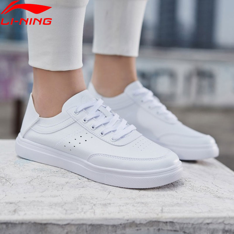 Li Ning Women REMODEL Classic Lifestyle Shoes Light Weight Flexible LiNing Comfort Sport Shoes Sneakers AGCP062
