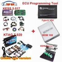 Full Set!! Newest HW V4.036 KESS V2 Master ECU Chip Tuning Tool +KTAG V2.13+Galletto V54 +BDM frame +BDM 100 Chip Tuning Kit