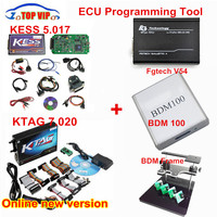 Full Set!! Newest HW V4.036 KESS V2 Master ECU Chip Tuning Tool +KTAG V2.13+Galletto V54 +BDM frame +BDM 100 Chip Tuning Kit
