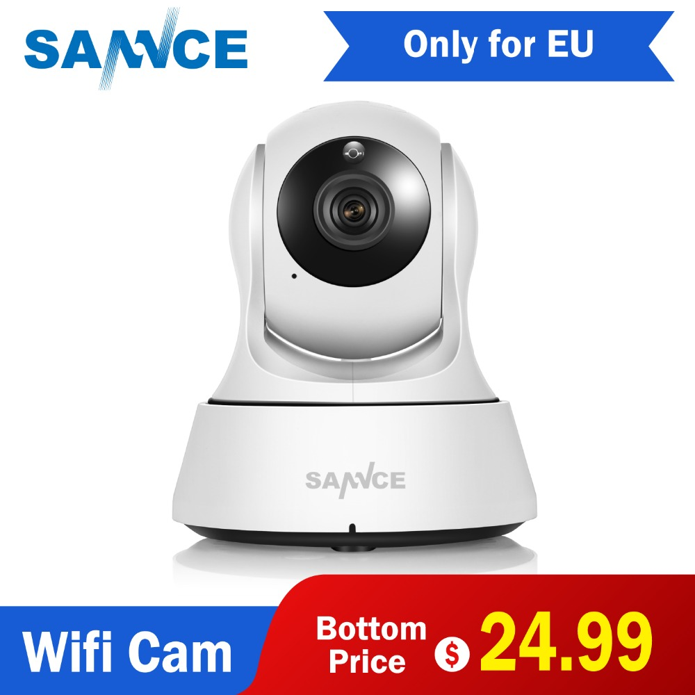 SANNCE Home Security IP Camera Wi-Fi Wireless Mini Network Camera Surveillance Wifi 720P Night Vision CCTV Camera Baby MonitorSANNCE Home Security IP Camera Wi-Fi Wireless Mini Network Camera Surveillance Wifi 720P Night Vision CCTV Camera Baby Monitor