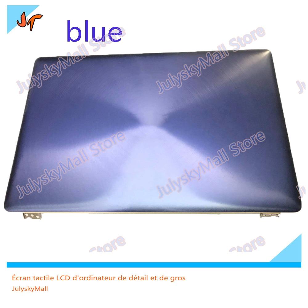 12.5 インチ完全なシリーズ asus Zenbook UX390 UX390UA ブルー完全な液晶表示画面表示パネルフレーム上半分  グループ上の パソコン & オフィス からの ノートパソコンの液晶画面 の中 1