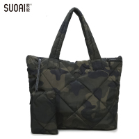 SUOAI 3In1 Women Handbag Soft Winter Bag Women S Waterproof Shoulder Casual Totes Purse High Quality