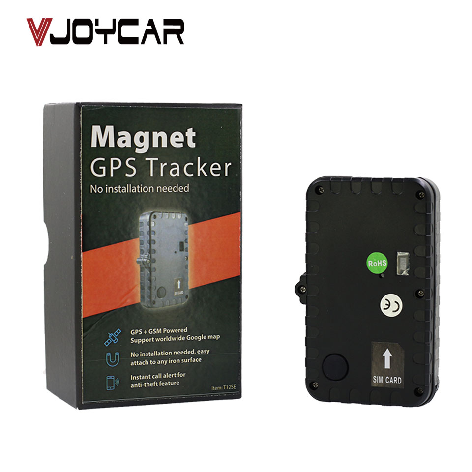 VJOYCAR T12SE New Crawler IPX7 Waterproof GSM font b GPS b font Tracker 450days Long Battery