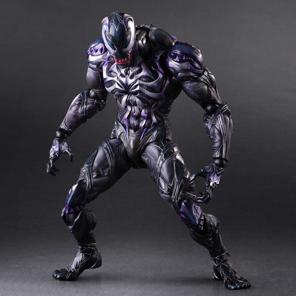 Free Shipping 10 PA KAI Spiderman Venom Marvel Universe Variant Boxed 26cm PVC Action Figure Collection Model Toy Doll Toy Gift free shipping 10 pa kai hatsune miku boxed 25cm pvc action figure collection model doll toy gift