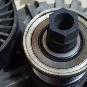 Новый генератор сцепления свободного колеса шкив инструмент для удаления 33 сплайн для VW /AUDI /FORD для PEUGEOT 33TxH17