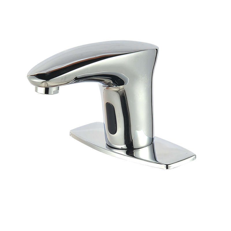 Touch Free Infrared Sensor Faucet Automatic Shut Off Faucet Cold ...
