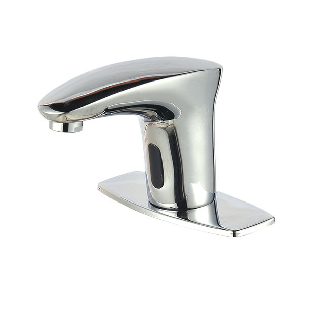 Touch Free Infrared Sensor Faucet Automatic Shut Off Faucet Cold Water Tap  For Lavatory Bathroom