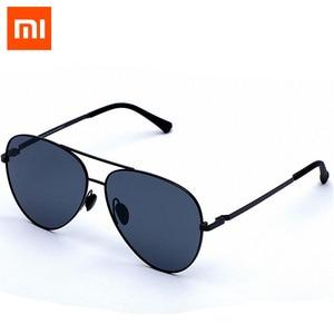 Image 1 - המקורי Xiaomi Mijia Turok Steinhardt TS מותג עדשות מראת שמש מקוטבת משקפי שמש משקפיים UV400 עבור גבר אשת זרוק משלוח