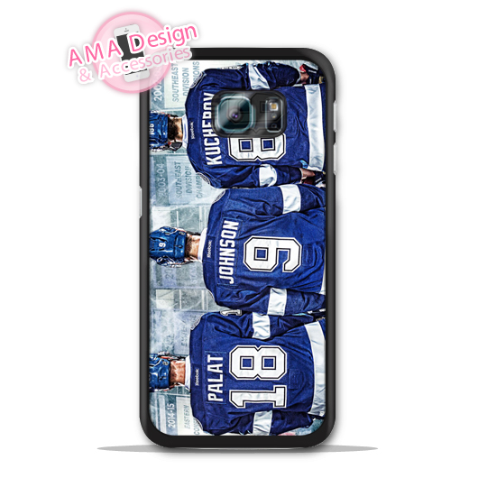 Tampa Bay Lighting Ice Hockey Fans Case For Galaxy S8 S7 S6 Edge Plus S5 S4 mini active  ...