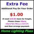 Taxa Extra de mais sobre a. $ 1.00 para cada se precisa $ 10.00 mais de frete, Por favor , escolha e coloque o