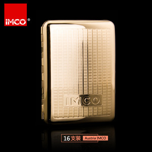 Image 4 - Caja de cigarrillos Original IMCO, caja de puros de cobre puro, soporte para tabaco, contenedor de almacenamiento de bolsillo, accesorios para cigarrillos