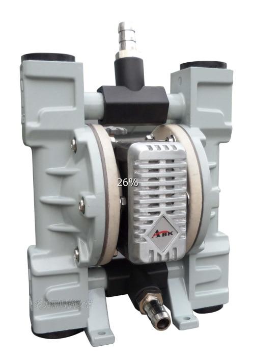 Commutateur STARPAD Double membrane d'aspiration/huile de pompage/peinture/pompe à encre d'impression switchton/pompes à membrane pneumatique bidirectionnelle
