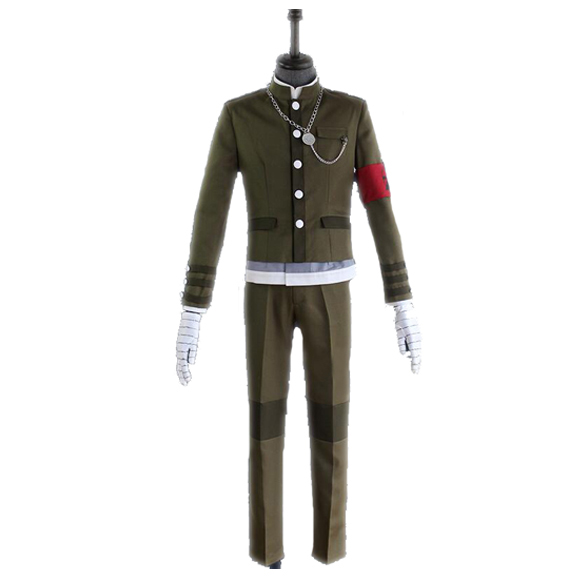 COSPlAY Japanese game Danganronpa V3: Killing Harmony Korekiyo Shinguji School Uniform Suit (8pcs) Cos Clothes