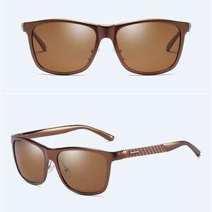 Image 4 - BARCUR אלומיניום גברים משקפי שמש משקפיים שמש לגברים נשים Eyewear אבזרים