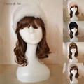 Daisy & Nd Inverno Faux Fur Hat Plush EarWarmer Senhoras elegantes Ski Hat 015
