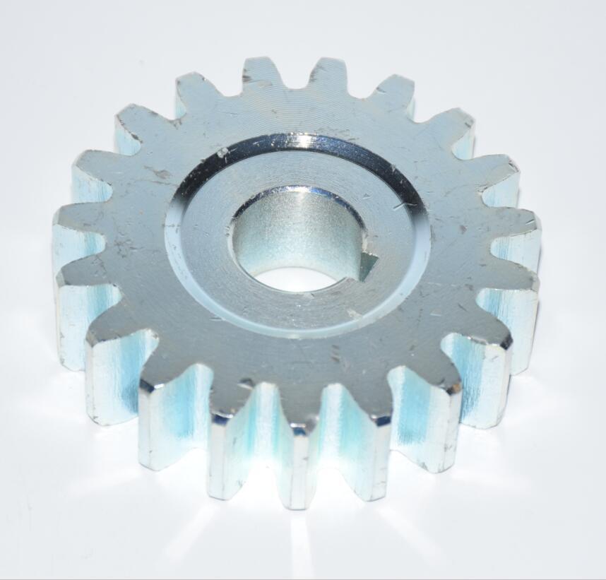 LPSECURITY steel gear pinion for sliding gate motor M4 19 teeth  21mm in internal diamter 86mm in external diameter