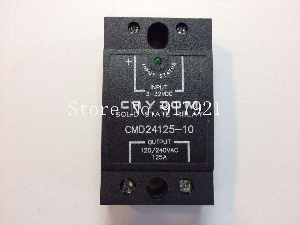 [ZOB] United States Crydom Qantas CMD24125-10 import 125A120-240V3-32V solid state relay  --2pcs/lot напильник united states nicholson nicholson 10 06034
