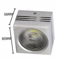 Estilo Caliente del envío libre ahorro de Energía del precio de Fábrica CE & ROHS Frío blanco Cálido AC85 ~ 265 V COB LED 15 W downlights cuadrados