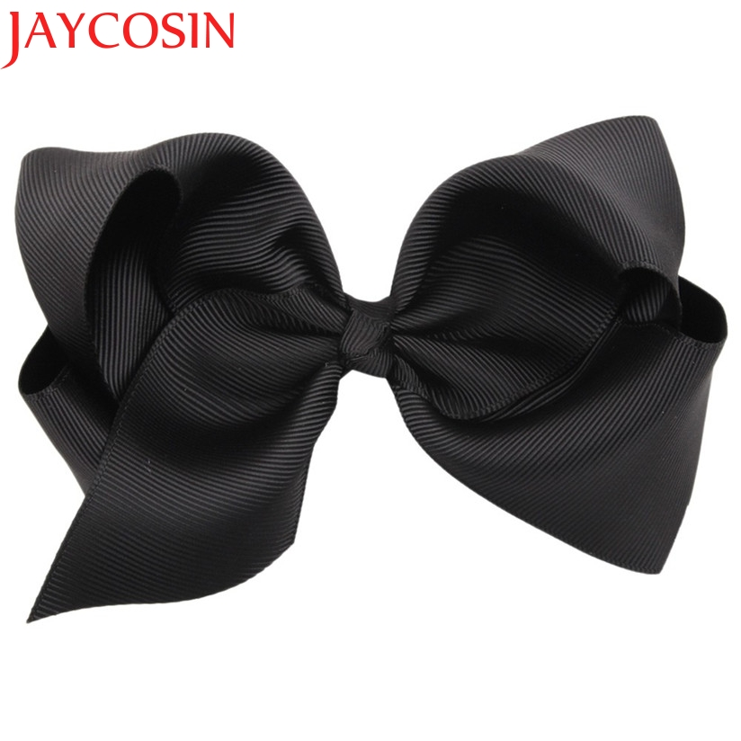 JAYCOSIN New Fashion Fashion Big Bow Hairpins Hair Clips For Children Kids Girls Hair Accessories Drop Shipping JAYCOSIN newly design fashion big bow hairpins hair clips for children kids girls hair accessories drop shipping