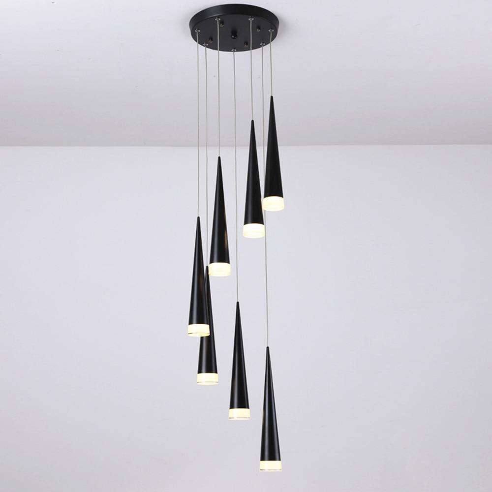 da sala de jantar pingente luzes do tubo cilindro 04