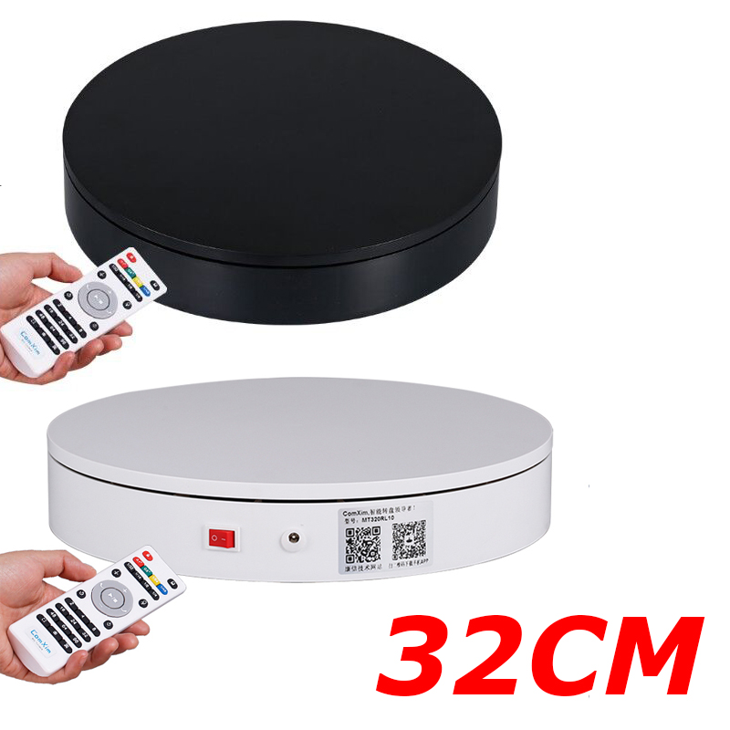 32 см качество умный вращающийся круг для фотографии 360, скорость/направление контролируется через пульт дистанционного управления, различн...