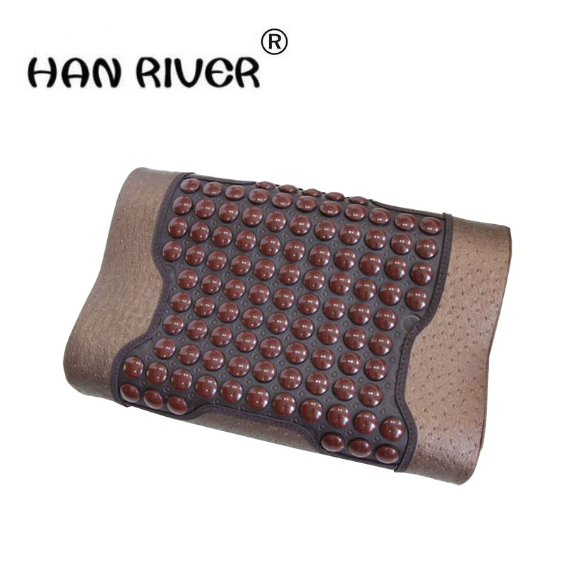 Germanium stone massage neck guard ms tomalin cervical pillow jade health care pillow cotton memory pop relax hexagon jade tourmaline germanium stone jade cervical pillow pr p002 massage relaxant cervical tourmaline pillow hot