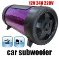 Top quality car audio subwoofer altavoz con potencia MÁXIMA 50 W 4 pulgadas 3 colores para la opción para TF U disco