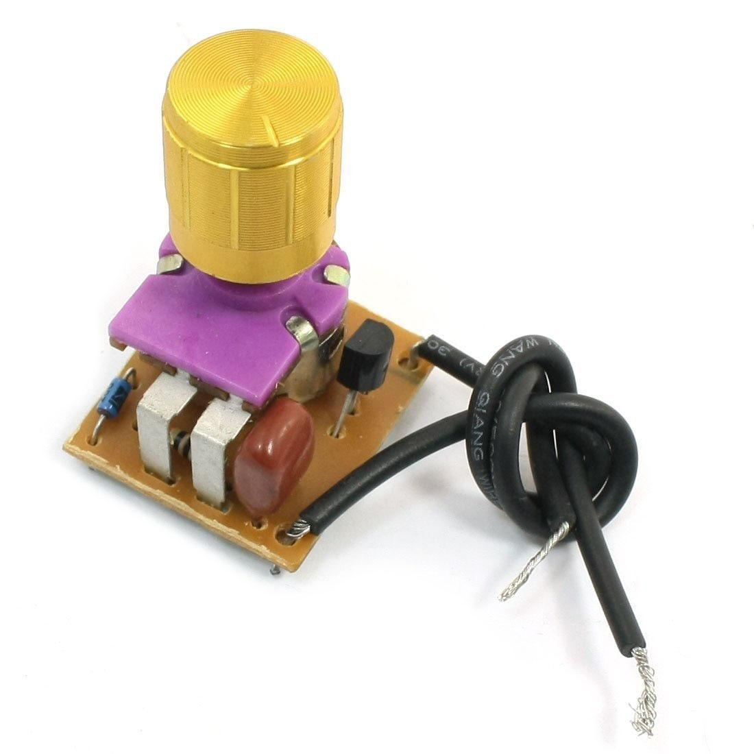 Высокое качество настольная лампа полный спектр диммер золотой тон поворотный переключатель 2 Провода разъем