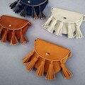 Child Kids Girl Mini Bags Children Leather Tassel Bag Messenger Cross Body Candy Coin Money Handbags Purse Satchel Praty Gifts