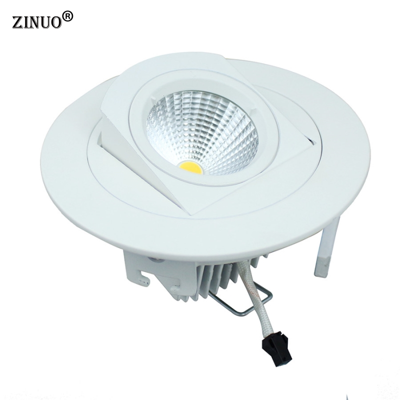 ZINUO 10W Indbygget COB Led Downlight 90 Degree Rotation LED Ceiling - Indendørs belysning - Foto 2