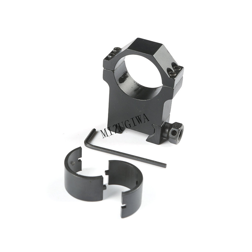 1 Pair x Tactical 30mm Scope Ring Mount For 20mm Weaver Picatinny Rail Hunting